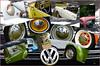 VW (evisdotter) Tags: vw cars bilar folkvagnar volkswagen details reflections badhusparken mariehamn collage
