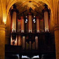 8 - Dieppe - Eglise Saint-Rémy - Orgue (melina1965) Tags: normandie seinemaritime août august 2017 nikon d80 église églises church churches vitrail vitraux stainedglasswindow stainedglasswindows dieppe orgue orgues organ organs