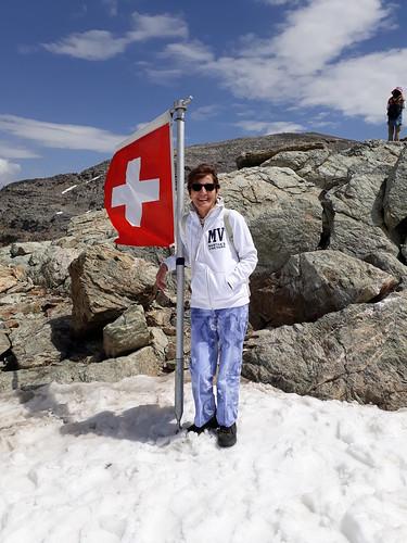 Saluti dalle nevi svizzere
