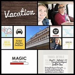 🎶 Vacation, all I ever wanted. Vacation, had to get away 🎶!! #projectlifeapp #projectmouse #overapp #memorykeeping #theockeysgotodisneyland (girl231t) Tags: ifttt instagram 2017 vacation scrapbook layout 12x12layout projectlifeapp overapp