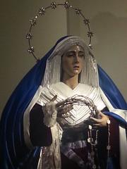 María Santísima de la Salud y Perpetuo Socorro (Cofradeus) Tags: alcaladehenares semanasanta salud perpetuosocorro soledad dolor dolores dolorosa