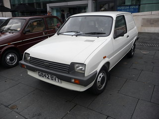 Austin Metro Van_Coventry Transport Museum_Hales Street_Coventry_Oct17