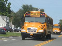 East End Bus Lines #0838P (ThoseGuys119) Tags: eastendbuslines orangecountytransitllc schoolbus maybrookny 2018 propane gasoline birdbus
