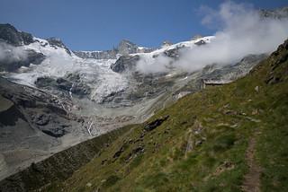 glacier meltdown... live