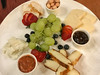 Artisan Regional Cheese Plate: White Gold Cheddar, Halloumi, Maple Chipotle, Maenad Grass-Fed Goat Cheese, Summer Fruit, Housemade Strawberry Powdered Candied Hazelnuts, Rhubarb Compote, Fig Jam ($12) (loustejskal) Tags: lakeplacid newyork unitedstates whitefacelodge kanu