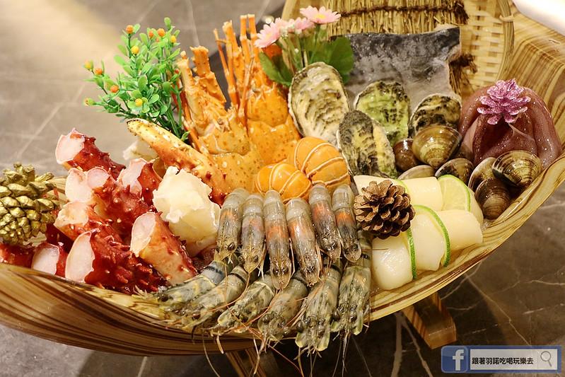 原月日式頂級帝王蟹吃到飽板橋燒烤吃108