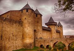 Carcassonne (Francia) (Carlos M. M.) Tags: carcasonne francia france canon100d hdr nubes clouds castillo castle