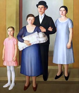 IMG_2622C Antonio Donghi. 1897-1963. Battesimo. Baptism.  1930   Turin Galleria d'Arte Moderna e Contemporanea