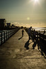 In fading light (teltone) Tags: wirral seaside merseyside coast rivermersey northwest icons summer stroll flaneur street canon 5dmkii fullframe aperturepriority