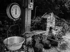 OldScale (billP!) Tags: scale old river bw monochrome village p10