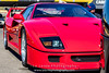 Red-Ferrari-F40-sports-car-in-sydney-by-la-lente-photography-front-light (Paul D'Ambra - Australia) Tags: car red ferrari sportscar redsportscar redferrari vehicle motorvehicle redf40