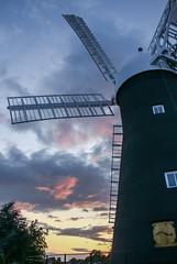 Holgate Windmill sunset, August 2017 - 3
