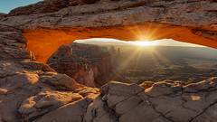 """The """"arch"""" (Yves Couturier) Tags: mesa arch mesaarch utah landscape sunrise canyonlands moab"""
