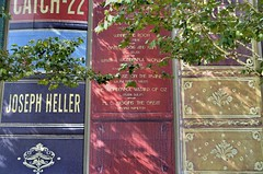 Community Bookshelf (jpellgen (@1179_jp)) Tags: kc kansascity mo missouri travel midwest usa america nikon sigma 1770mm 2017 summer september library publiclibrary communitybookshelf parking garage downtown book books reading