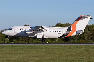 G-JOTR / JOTA Aviation / British Aerospace Avro RJ85