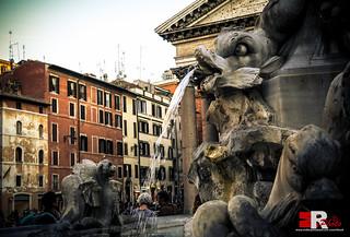 Roma, Fontana di Piazza della Rotonda