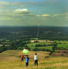 summers day at the devils dyke. (mike jennings 1) Tags: sussex devilsdyke kite