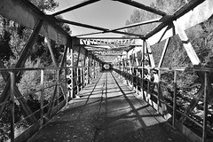 Misa ATO Structure métallique 2017 (misaato) Tags: monochrome noiretblanc blackandwhite blackartwhite whiteandblack nikonflickraward structure pont misaato cevennes light shadows bridge misaatophotography best world hiveminer flickr blancetnoir bn bw nikon grey gris photo photographie art gard albnegru