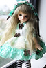 Sweet Little May (o_lillet_o) Tags: bf sf bluefairy blue shiny fairy bjd doll may 1st 3rd dollheart codenoir