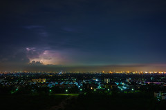 Rain Season (technodude67) Tags: bangkok landscape light lightning longexposure natural nature night nightphoto rain thailand