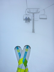 Visibility (Magryciak) Tags: 2017 whakapapa ruapehu mtruapehu snow ski skiing weather lift chair fog mist clouds mountain high altitude cold northisland newzealand
