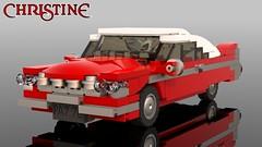 Plymouth Fury 1958 Christine (tigertvi) Tags: lego car vehicle plymouth fury christine moc
