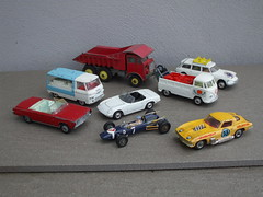A Selection of Vintage Corgi & Dinky Toys Bought At a Local Car Boot Sale VW Corvette Citroen Commer & Foden Models (beetle2001cybergreen) Tags: a selection vintage corgi dinky toys bought at local car boot sale vw corvette citroen commer foden models