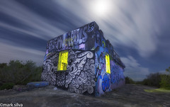 in minor keys solutions and remedies (mark silva) Tags: northhead manlybunker lightpainting paintingwithlight lumecube torch flashlight nocturne nocturnal nocturnes canon