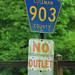 Cullman CR903 Sign - No Outlet