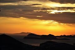 Sunset near Dubrovnik, Croatia by rob.scheerlinck -
