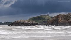 Storm Over Criccieth Castle (marc_leach) Tags: