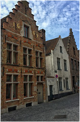 Bruges, Belgium (plopsin) Tags: travelphotography street charming beautiful iphone6plus iphone traveldestination travel colors houses cityhouses house town belgium bruges brugesbelgium