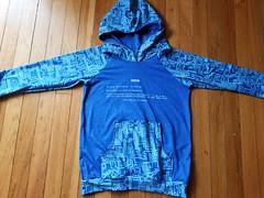 BSOD sweatshirt (quinn.anya) Tags: bsod bluescreenofdeath sewing sweatshirt