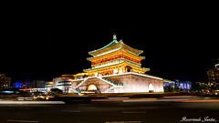 xi'an, China (Recorriendo Juntos) Tags: templo china temple larga exposicion long longexposure largaexposicion exposure lights luces highway xian