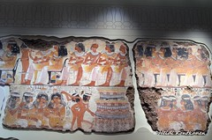Ancient feast (konde) Tags: nebamun 18thdynasty thebes newkingdom tombrelief tombpainting ancientegypt britishmuseum art juhla party feast music