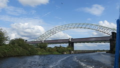1708 North of England (299) (ian262) Tags: cheshire manchestershipcanal rivermersey runcorngap silverjubileebridge