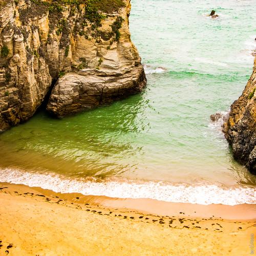 Little Beach (Cathedrals Beach, Ribadeo, Lugo, Galicia, Spain)