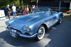 Pacific National Exhibition - Classic Cars/Trucks (Neal D) Tags: bc vancouver pacificnationalexhibition car auto automobile chevrolet corvette 1959 convertible pne