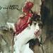 BOLDINI Giovanni - Jeune Femme coiffée d'un Chapeau rouge tenant un Sac rouge (Louvre RF39193) - Detail 65