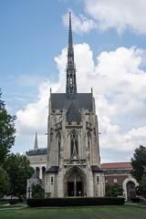 Pittsburgh University Chapel, Pennsylvania (mklinchin) Tags: 2013 columbus pittsburgh vacation pennsylvania usa