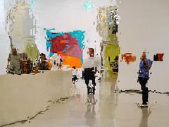 im Städel Museum, Frankfurt (Werner Schnell Images (2.stream)) Tags: ws museum frankfurt reflection mosaicmirrorwallpiece johnmarmleder städel andy warhol goethe