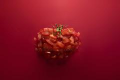 monochrome (Antonio Iacobelli (Jacobson-2012)) Tags: pomodoro pezzetti tomato verdure pieces red bari nikon d5 nikkor 2485