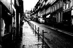 Rainy shadows (max tuguese) Tags: bw blackwhite black white noiretblanc noir blanc bianco nero monochrome porto town city cityscape street sony maxtuguese portuguese portugal urban traffic building architecture schwarz weis preto branco dark