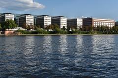 2017 Allianzgebäude in der Abendsonne (mercatormovens) Tags: frankfurt main mainufer city architektur gebäude sachsenhausen allianzgebäude