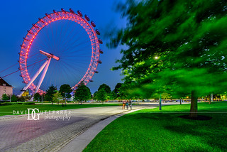 London Eye, South Bank, London, UK