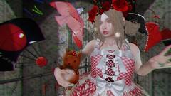 "That Faraway Look ~ (LaDonna Oceanlane - ""Lala"") Tags: secondlife neonspiderfoot ladonnaoceanlane catwa catya maitreya pinkhustler yokai swallow cureless thewhitecrow konpeitou atomic moonamore anhelo anc {anc} whimsical thecoven prismagica fiftylindenfriday gacha kites red flowers kawaii moremore"