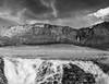 Waterfalls B&W (Vol'tordu) Tags: waterfall waterfalls mountains rhônealpes france savoie roselend layers dry summer blackandwhite bw