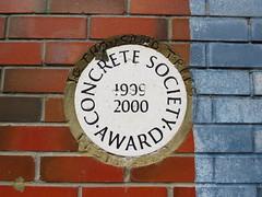 Concrete Society Award 1999-2000 (Normann) Tags: kennetandavon enfield plaque 2000 1999 award bridge