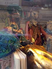 Merchant in Venice 2 -  Venice shop, Italy (ashabot) Tags: merchantofvenice venice veniceitaly italy window theater theatre worlds walkabout