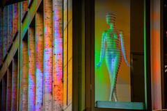 Iluminado (seguicollar) Tags: ventana maniquí iluminación luz color colorido fachada edificio arquitectura imagencreativa photomanipulación art arte artecreativo artedigital virginiaseguí
